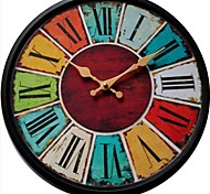 """13 """"h estilo mediterrâneo relógio de parede"""