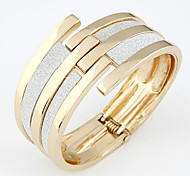 Women's Fashion Multilayer Metal Mosaics Bangle