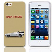 Back to the Future Design Hard Case with 3-Pack Screen Protectors for iPhone 5/5S