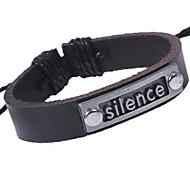 z&x® elegant nationalen 24cm Herren-Leder Wickelarmband (1 PC) (schwarz, braun)