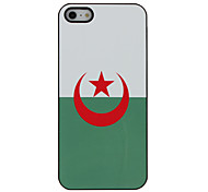 Top 32 World Cup Series Flag of Algeria Pattern Hard Case for iPhone 5/5S