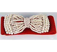 Women Waist Belt , Cute Alloy/Imitation Pearl