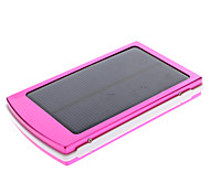 10000mAh Multi-Output Solar External Battery Rose for Mobile Device