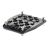 Motorcycle Pedal JC337 - Black