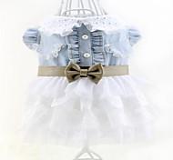 Washed Denim Pet fashion Dress (Assorted Sizes)