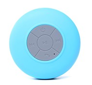 Mini Altavoz Impermeable Ultra Portátil IPX 4 Stereo, Wireless, Bluetooth (Azul)