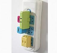 3 In 1 Power Supply Conversion Plug (Color Random)