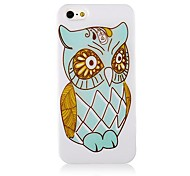 Nacht-Eulen-Muster-Silikon-weiche Tasche für iPhone 5/5S