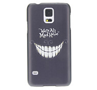 For Samsung Galaxy Case Pattern Case Back Cover Case Black & White PC Samsung S5