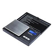 Alta Precisão Mini Eletrônica Digital Escala de Bolso Jóias Pesando balança portátil 650g/0.1g