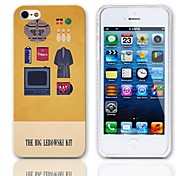 The Big Lebowski Kit Pattern Hard Case with 3-Pack Screen Protectors for iPhone 5/5S