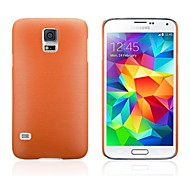 Wire Drawing PC Hard Case for Samsung Galaxy S5 I9600(Assorted Colors)