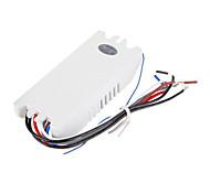 4 Circuitos de Controle Duplo Seção remoto Switch (filamento da lâmpada 750W, 300W Lâmpada de poupança de energia)