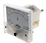 85L1 Analog 1A Current Panel Meter Ammeter (White)