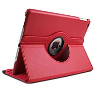 360 Degree Rotating Stand PU Leather Auto Sleep and Wake Up Case Cover for iPad Air (Assorted Colors)