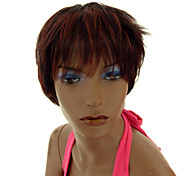 Synthetic Stylish Mixed-color Short Wig