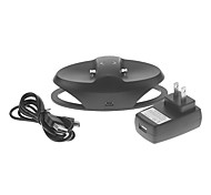 Dual Charge Station with AC Adapter for PS4 Controller(Black)