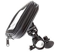 Waterproof Bike Mount Clip Holder Handlebar Stand Bag Case for Samsung Galaxy Mega 6.3 I9200
