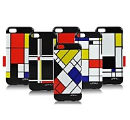 Special Design Geometry Image Case for iPhone5C