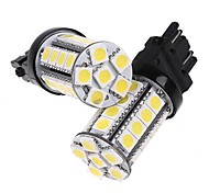 2-delige 3157 White 30 5050 SMD LED auto Brake Stop lamp gloeilamp