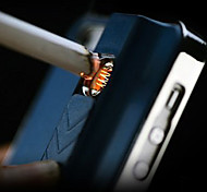 Purity Metal Pattern with Lighter Function Back Case for iPhone 5/5S(Assorted Color)(Great design, smoker choose)
