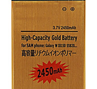 Reemplazo de 3.7V 2450mAh Li-ion para Samsung T759
