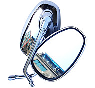Motorcycle Remould Parts 360 Rotatable Rearview Mirror For SUZUKI HONDA (Pair)