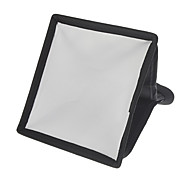 Mini 15mm x 17mm Camera Soft Light Cover (White+Black)