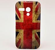 Retro UK National Flag Pattern Soft Case Cover for Moto G