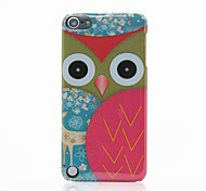 Owl Design Pattern Hard Case pour iPod touch 5