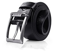 Moda Masculina Couro Pin Buckle Belt Casual 2 Cores