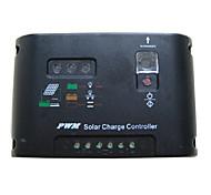 sola potenza di uscita del regolatore 10a regolatore solare 12V/24V interruttore automatico riconoscimento