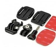 ТОЗ TZ-GP105 площадь + Овальные Гора + винт + клейкой лентой 3M Набор аксессуаров для Sony AS15 / AS30 / Rollei