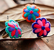 New Style Flower-Shape Classic Personality Alloy Women's Ring(1 Pc)(More Style)