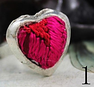 New Style Classic Heart-Shape Personality Alloy Women's Ring(1 Pc)
