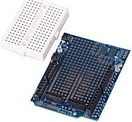 scheda di espansione scudo prototipo con mini tagliere per (per arduino)