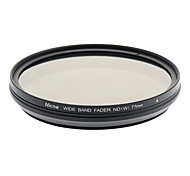 Nicna ND2~ND400 Premium Digital Fader ND Filter(77mm)