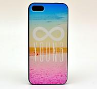 Caso duro 8 Numero Sea Beach Pattern for iPhone 5/5S