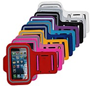 Elonbo F28 Fashion Sports Armband Full Body Case Cover for iPhone 4/4S (Assorted Colors)