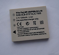 Digital Video Battery Replace Fuji.NP40 for FUJIFILM FinePix F402 and More (3.7v, 1250 mAh)