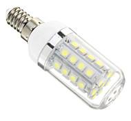 Bombillas LED de Mazorca E14 36 SMD 5050 480 LM Blanco Fresco AC 100-240 V