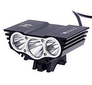 Налобные фонари LED 3000 Люмен 3 Режим Cree XM-L2 T6 18650 Перезаряжаемый Водонепроницаемый Очень легкие Компактный размер Маленький