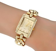 Women's Dress Style Steel Band Quartz  Wrist Watch (Assorted Colors)