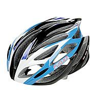 EPS FJQXZ integralmente-stampati + PC blu e bianco ciclismo Caschi (21 Vents)