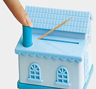 Casa em forma de paliteiro cor aleatória, W6.5cm x L11cm x H9cm
