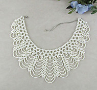 Z&X®  Fashion Doll Collar  As Picture Imitation Pearl Collar Necklace (1 Pc)