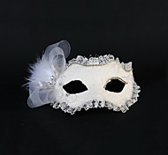 Feather And Lace Wedding/Party Masks