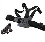 Chest Body Strap for GoPro Hero 3+/3/2/1 with 3-way Adjustment Base