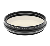 Nicna ND2~ND400 Premium Digital Fader ND Filter(52mm)