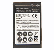 3.7V 1100mAh al litio batteria del telefono cellulare per HTC Touch Diamond 2